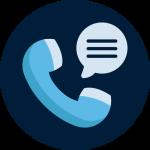 icona contatto telefono digital suits web e communication agency a Bologna