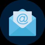 icona contatto mail digital suits web agency Bologna comunicazione digitale su misura