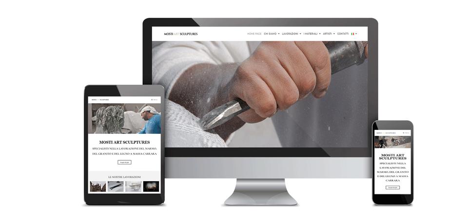 mockup mosti art sculptures portfolio web design digital suits web agency