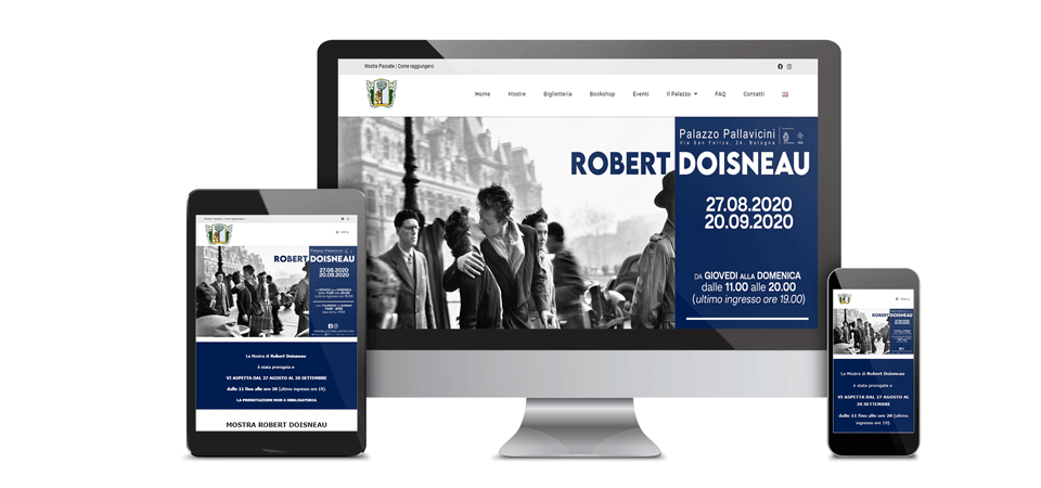 mockup palazzo pallavicini portfolio web design digital suits web agency