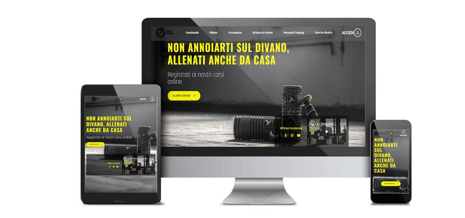 mockup training officina funzionaleportfolio web design digital suits web agency